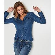 Chemise jean femme jean clair - promod