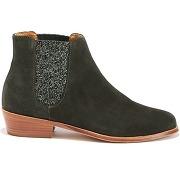 Soldes ! boots cuir et paillettes - bobbies