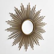 Miroir soleil Ø80 cm, soledad laiton