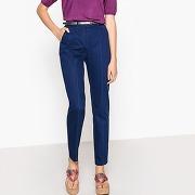 Pantalon chino militaire bleu outremer-bleu-34-femme > vêtements > pantalon > pantalon slim