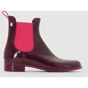 Boots de pluie pisa cerise-rose