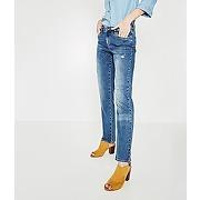 Jean droit impression laser jean brut - promod