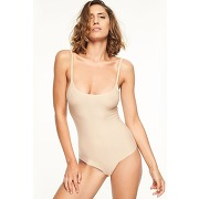 Body microfibre extensible soft stretch nude