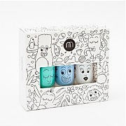 Pack 3 vernis jungle multicolore - nailmatic kidspack 3 vernis jungle multicolore - fille