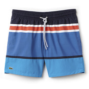Short de bain coupe medium color block