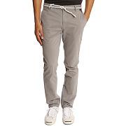 Pantalons chino eleven paris pour homme - chino charlie ceinture corde gris