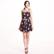 Soldes - robe courte imprimée motif fleurs fines bretelles femme - 3 suisses collection