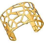 Les georgettes bracelet large girafe en métal doré 70261600100000 - bijou pour femme les georgettes en métal doré