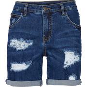 Short en jean bleu femme - bonprix