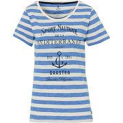 Gaastra t-shirt algae blanc femmes