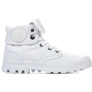 Baskets mode mixte - palladium - blanc - millim