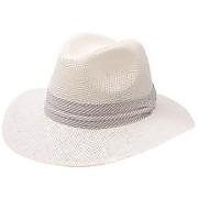 Chapeau panama femme blanc angie