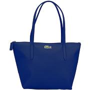 Cabas l.12.12 concept - bleu - femme - lacoste - tailles disponibles: taille unique