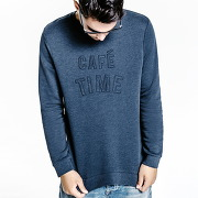 Sweat café time homme