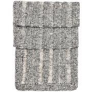 Écharpe en maille en laine mélangée à de l?alpaga : « islina »