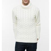 Pulls col roulé galucebo - pull torsade en laine mérinos galucebo textile français le chamonix