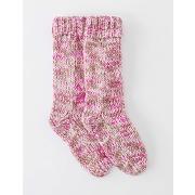 Chaussettes à grosses mailles rose femme boden
