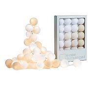 Guirlande lumineuse kit uyuni 20 boules - la case de cousin paul