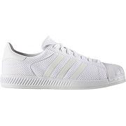 Soldes ! baskets superstar bounce - masculin - blanc - adidas originals