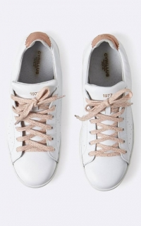 baskets blanches femme