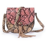 Soldes ! besace façon reptile - mademoiselle r