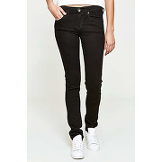 Jeans dr denim snap slim noir femme