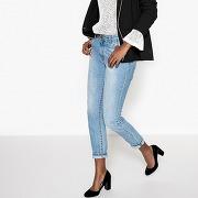 Soldes ! jean boyfit - feminin - bleu - la redoute collections