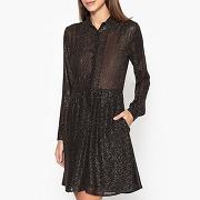 Soldes ! robe transparente maeva sparkel - feminin - noir - jolie jolie petite mendigote