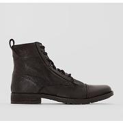 Soldes ! boots en cuir maine lac - masculin - noir - levi's