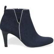 Boots talon bleu marine