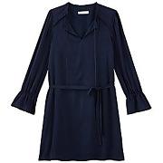 Robe retro femme marine - promod