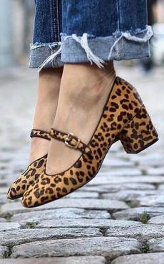 Chaussures imprimées - Eram