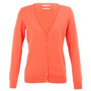 Gilet col v - esprit - orange