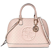Sac guess korry dome satchel rose pale femme