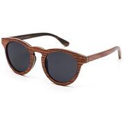 Lunettes de soleil rezin pour homme - lunette de soleil en bois nelson