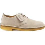Derbies clarks pour homme - desert london suede beige