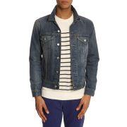 Blousons levi's pour homme - trucker jacket bleu clair denim