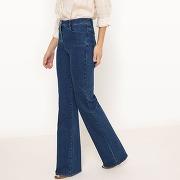 Soldes ! jean flare - feminin - bleu - la redoute collections