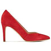 Escarpins en suede asap paris meteroïte rouge femme