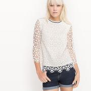 Soldes ! blouse - feminin - blanc - mademoiselle r
