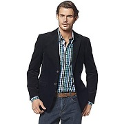 Veste blazer velours milleraies homme class international