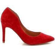 Escarpins cuir rouge femme - soft grey