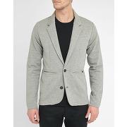 Vestes casual selected pour homme - blazer pr gris clair marcus