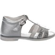Nu-pieds fille - cypres - gris argent - millim