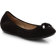 Ballerines cuirchaussures femme - geox - coloris : noir - taille : 37,38,36,39.