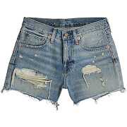 Short relaxed cut off - bleu - femme - denim & supply ralph lauren - tailles disponibles: 26,27 - solde