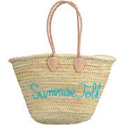 Sac de plage brodé en osier - beige - femme - galeries lafayette - tailles disponibles: taille unique - solde