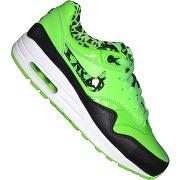 Nike - basket - femme - air max 1 161 - vert noir fb