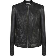 Naf naf veste cuir noir