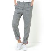 Pantalon en tweed gris - r studio